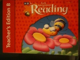 9780076026593: Early Interventions in Reading Level 1 - Teacher's Edition B (Teacher's Edition B, Level 1)