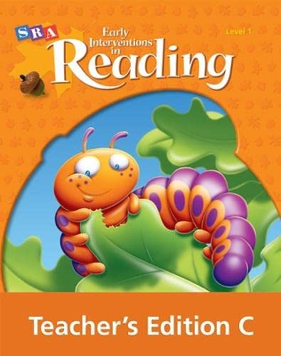 9780076026609: Early Interventions in Reading Level 1: Book C, Teacher's Edition