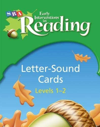 9780076026692: Early Interventions in Reading 1 Letter Sound Cards