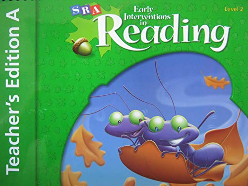 9780076026760: SRA Early Interventions in Reading TEACHER'S Edition A Level 2 (Level 2)