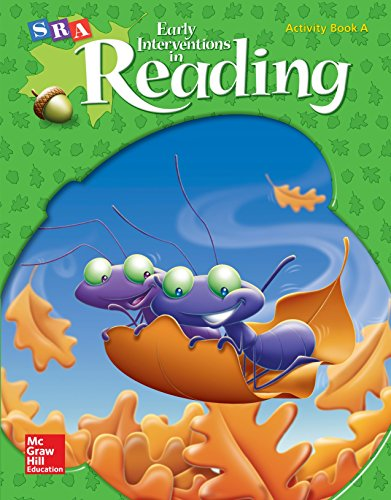 9780076026791: SRA Early Interventions in Reading - Activity Book A - Level 2