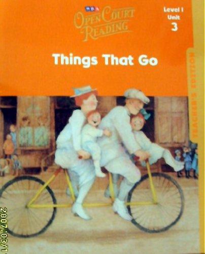 9780076027392: Teacher's Edition - Unit 3 - Grade 1 (Open Court Reading)