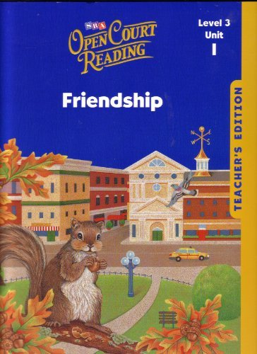9780076027538: Open Court Reading - Teacher's Edition - Unit 1 - Grade 3
