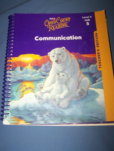 9780076027637: Open Court Reading, Teacher's Edition, Unit 5, Grade 4 (IMAGINE IT)