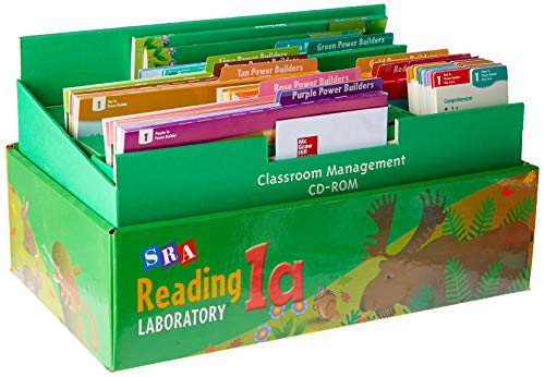 9780076028177: Reading Lab 1A - Complete Kit - Levels 1.2 - 3.5 2005
