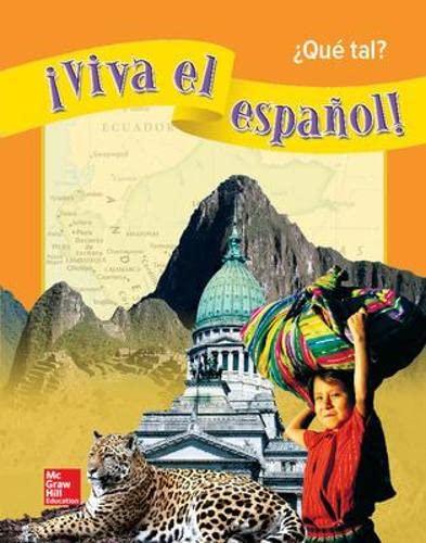 9780076029167: Viva El Espanol - Que Tal (Spanish Edition)