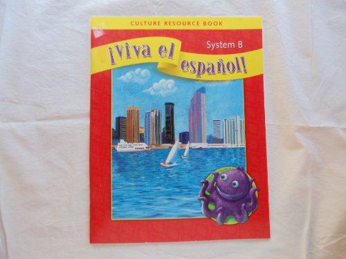 9780076029679: Culture Resource Book (Viva el espanol!)