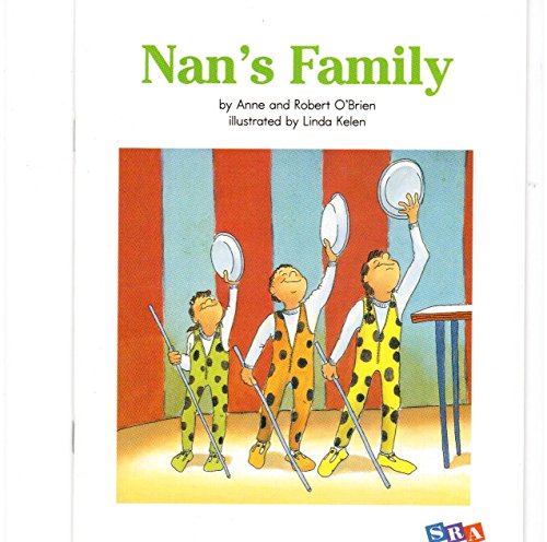 9780076030408: SRA Early Interventions In Reading Nan's Family Level 1