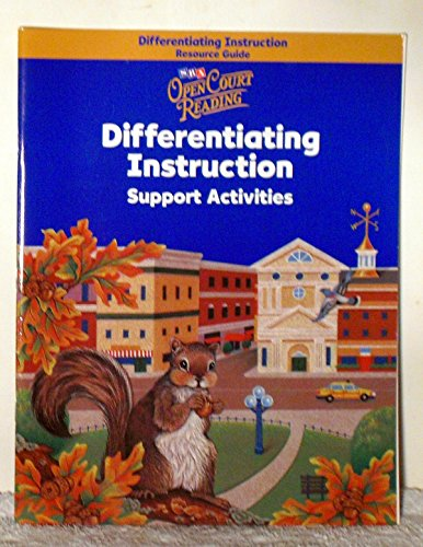 9780076031238: Differentiating Instruction Support Activities - Grade 3 (Open Court Reading)