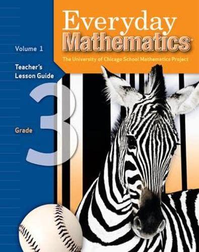 9780076035960: Everyday Mathematics: Teacher's Lesson Guide, Grade 3, Vol. 1