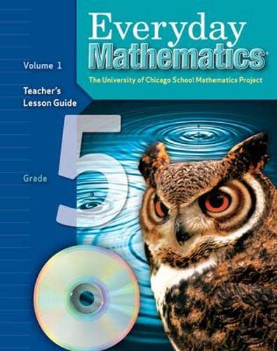9780076036004: Everyday Mathematics: Teacher's Lesson Guide, Grade 5, Vol. 1
