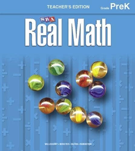 9780076037087: Real Math Building Blocks - Pre-K (SRA Real Math)