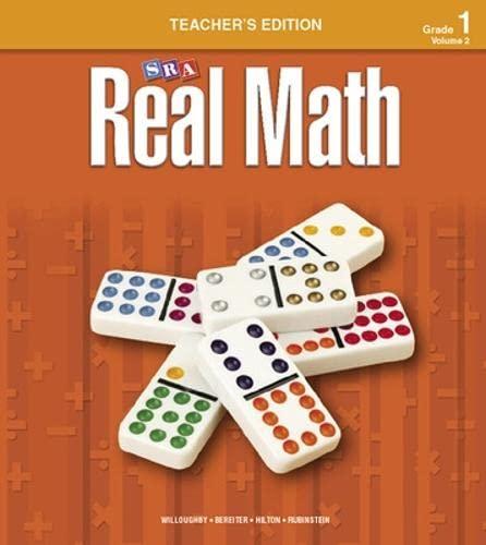 9780076037117: Real Math Teacher's Edition - Grade 1: v. 2