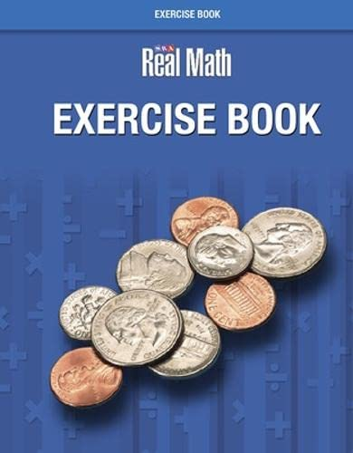 9780076037223: Real Math - Exercise Book - Grade 3 (SRA REAL MATH)
