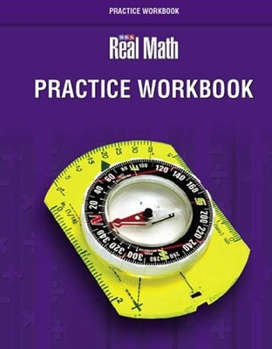 9780076037384: SRA Real Math Practice Workbook, Grade 4 (OCM Staff Development)