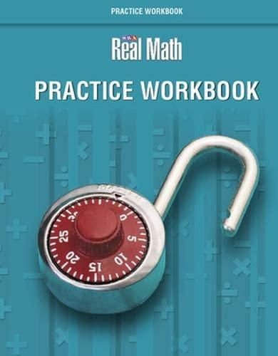 SRA Real Math: Grade 5: Practice Workbook: Education, McGraw-Hill