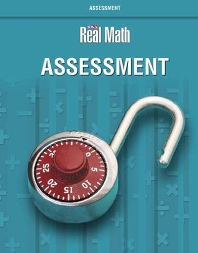 9780076037681: Real Math - Assessment - Grade 5