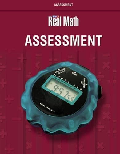9780076037698: SRA Real Math, Grade 6: Assessment