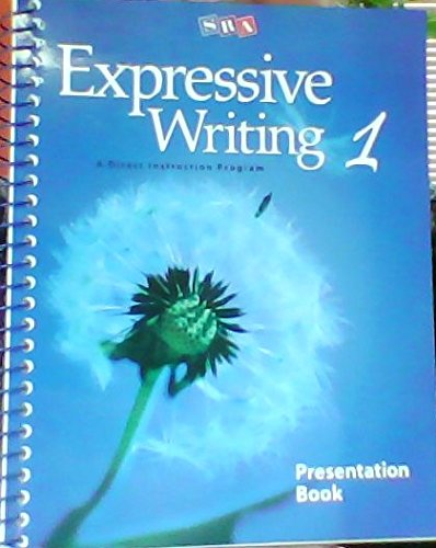 9780076038152: SRA Expressive Writing 1 Presentation Book