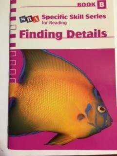 9780076039944: SRA Specific Skill Series for Reading - Finding Details (Book B), Sixth Edition