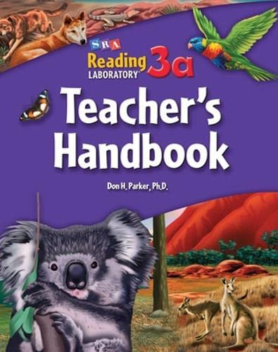9780076042708: Teacher's Handbook - Levels 3.5 - 11.0 (Reading Lab 3a)