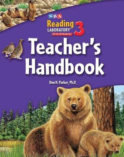Developmental 3 Reading Lab - Teacher's Handbook - Levels 3.5 - 7.0 (First Reading Lab): ...