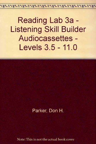 9780076043385: Reading Lab 3a - Listening Skill Builder Audiocassettes - Levels 3.5 - 11.0