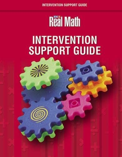 9780076043576: Real Math Intervention Support Guide, Grade K