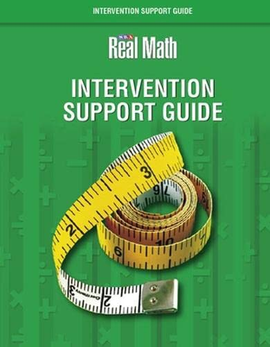 9780076043590: Real Math Intervention Support Guide - Grade 2