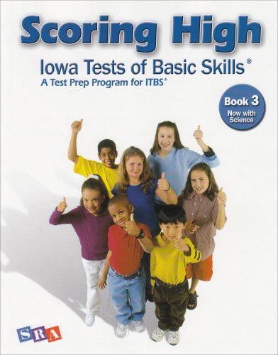 9780076043668: Scoring High: Iowa Test of Basic Skills: Book 3 Now With Science
