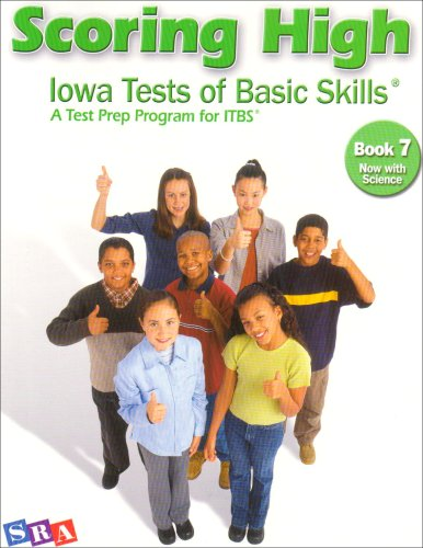 9780076043705: Scoring High: Iowa Tests of Basic Skills (Book 7)