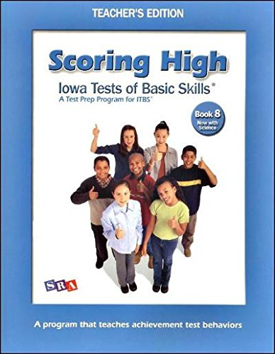 9780076043798: Scoring High on the ITBS - Teacher's Edition - Grade 8
