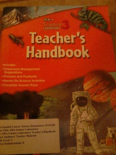 9780076044153: SRA Science Laboratory 3 - Teacher's Handbook