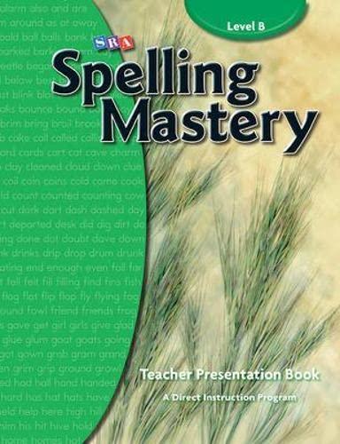 Spelling Masteryteacher Materials Level B (Corrective Spelling): McGraw-Hill Education