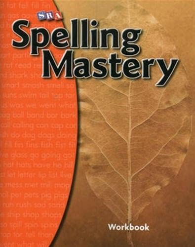 9780076044818: SRA Spelling Mastery: Level A