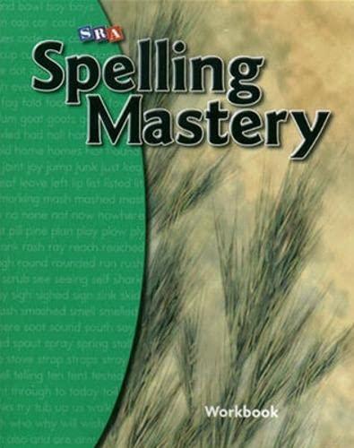 9780076044825: SRA Spelling Mastery: Level B