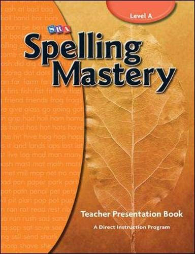 9780076044887: Spelling Mastery - Teacher Materials - Level A