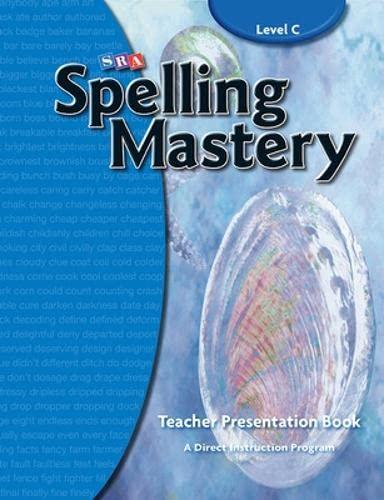 Spelling Mastery Level C, Teacher Materials (Corrective: McGraw-Hill Education, SRA
