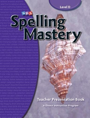 Spelling Mastery Level D, Teacher Materials: Education, McGraw-Hill