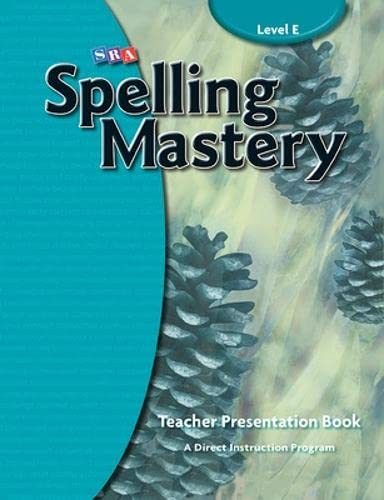 9780076044917: Spelling Mastery - Teacher Materials - Level E