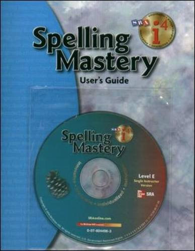 9780076044962: Spelling Mastery - Additional i4 Software Single Instructor Version - Level E