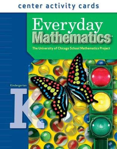 9780076045327: Everyday Mathematics, Grade K, Center Activity Cards
