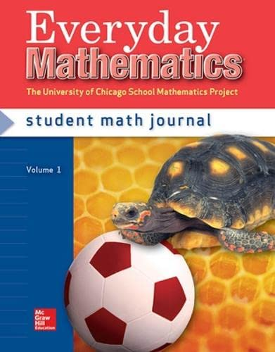 9780076045358: Everyday Mathematics, Grade 1, Student Math Journal 1