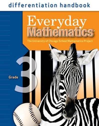 9780076045761: Everyday Mathematics: Differentiation Handbook, Grade 3