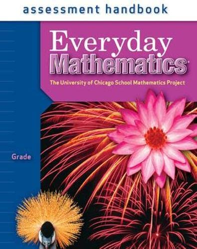 9780076045907: Everyday Mathematics Assessment Handbook, Grade 4 (University of Chicago School Mathematics Project)