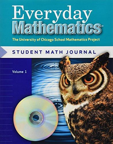 9780076046034: Everyday Mathematics Student Math Journal, Volume 1 Grade 5: The University of Chicago School Mathematics Project