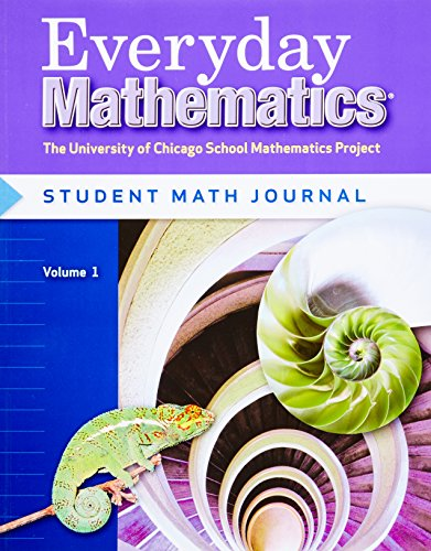 9780076052738: Everyday Mathematics, Grade 6: Student Math Journal, Vol. 1