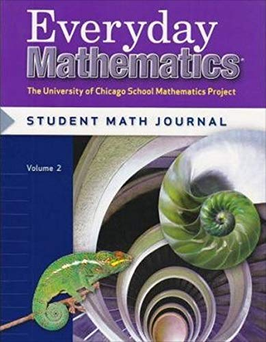 9780076052745: Everyday Mathematics, Grade 6: Student Math Journal, Vol. 2