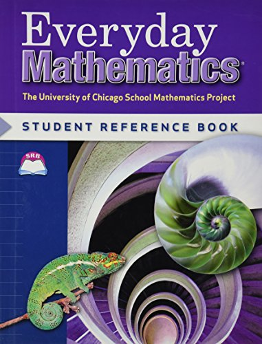 9780076052752: Everyday Mathematics: Student Reference Book, Grade 6