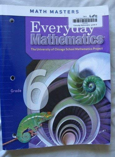 9780076052783: Everyday Mathematics, Grade 6 - Math Masters